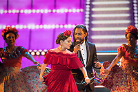 Natalia LaFourcade perform during the live ABC Telecast of The 90th Oscars&reg; at the Dolby&reg; Theatre in Hollywood, CA on Sunday, March 4, 2018.<br /> *Editorial Use Only*<br /> CAP/PLF/AMPAS<br /> Supplied by Capital Pictures
