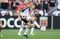 Colorado Rapids midfielder Jeff Larentowicz (4) D.C. United defeated the Colorado Rapids 2-0 at RFK Stadium, Wednesday May 16, 2012.