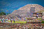Mexico - Teotihuacan - Features of the Pyramids' Town September 2011