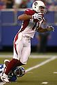 Larry Fitzgerald during the NY Giants v. Arizona Cardinals game on September 11, 2005. Giants win 42-19..Kevin Tanaka / SportPics