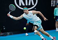 26th January 2020; Melbourne Park, Melbourne, Victoria, Australia; Australian Open Tennis, Day 7; Tennys Sandgren of USA during his match against Fabio Fognini of Italy