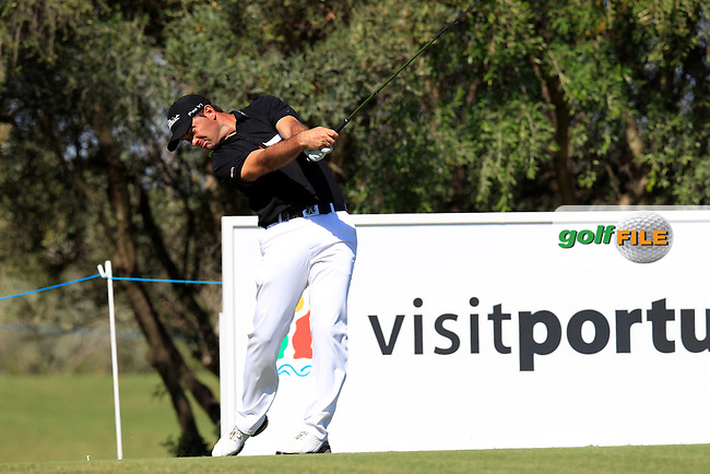 Ricardo Santos (POR) tees off the 12th tee during Saturday's Round 3 of the Portugal Masters at the Oceanico Victoria Golf Course, Vilamoura, Portugal 13th October 2012 (Photo Eoin Clarke/www.golffile.ie)