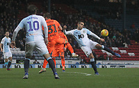 Blackburn Rovers Jack Rodwell gets a shot on goal<br /> <br /> Photographer Mick Walker/CameraSport<br /> <br /> The EFL Sky Bet Championship - Blackburn Rovers v Ipswich Town - Saturday 19 January 2019 - Ewood Park - Blackburn<br /> <br /> World Copyright &copy; 2019 CameraSport. All rights reserved. 43 Linden Ave. Countesthorpe. Leicester. England. LE8 5PG - Tel: +44 (0) 116 277 4147 - admin@camerasport.com - www.camerasport.com