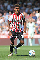 Ollie Watkins of Brentford in action  during Brentford vs Rotherham United, Sky Bet EFL Championship Football at Griffin Park on 4th August 2018