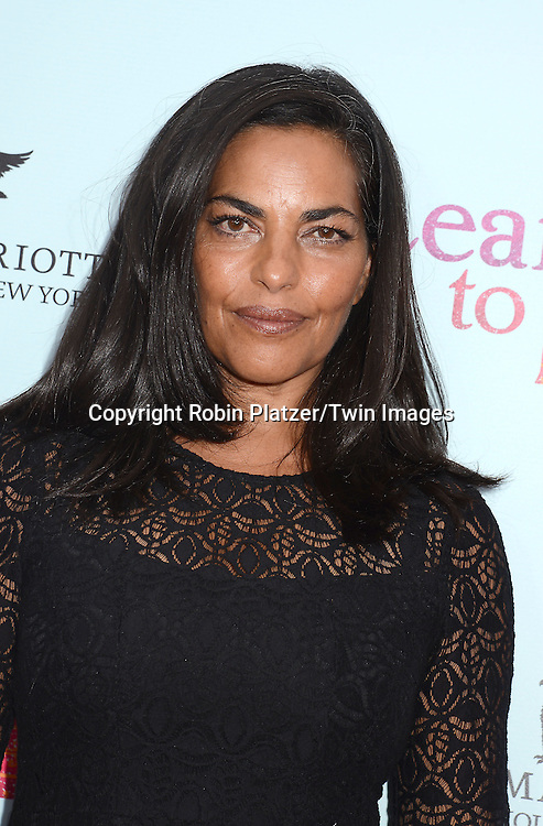 Sarita Choudury attends the NewYork VIP Premiere of &quot;Learning to Drive&quot;<br /> on August 17, 2015 at The Paris Theatre in New York City, New York, USA. <br /> <br /> photo by Robin Platzer/Twin Images<br />  <br /> phone number 212-935-0770
