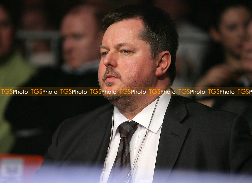 Boxing promoter Mick Hennessy pictured at his boxing show at York Hall - 22/02/08 - MANDATORY CREDIT: Gavin Ellis/TGSPHOTO. Self-Billing applies where appropriate. NO UNPAID USE. Tel: 0845 094 6026