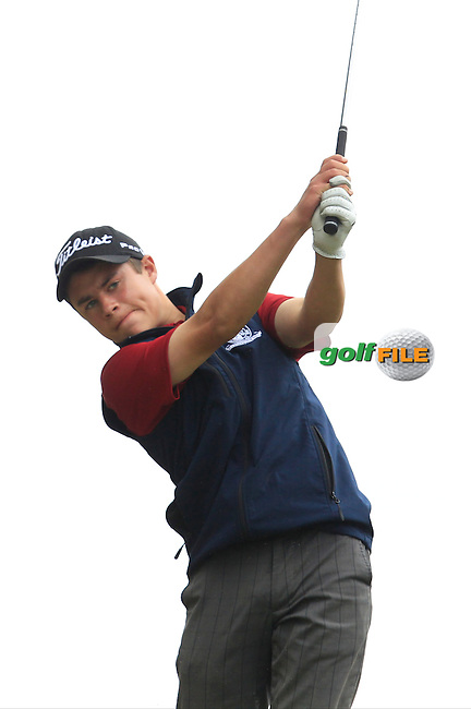 Charlie Denvir (Milltown) on the 7th tee during Round 2 of the Irish Boys Amateur Open Championship at Tuam Golf Club on Wednesday 24th June 2015.<br /> Picture:  Thos Caffrey / www.golffile.ie
