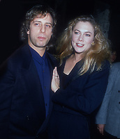 Kathleen Turner, husband Jay Weiss, 1989, Photo By Michael Ferguson/PHOTOlink