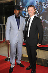 "HOLLYWOOD, CA. - June 08: Nelsan Ellis and Sam Trammell arrive at HBO's ""True Blood"" Season 3 Premiere at ArcLight Cinemas Cinerama Dome on June 8, 2010 in Hollywood, California."