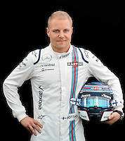 March 17, 2016: Valtteri Bottas (FIN) #77 from the Williams Martini Racing team at the drivers' portrait session prior to the 2016 Australian Formula One Grand Prix at Albert Park, Melbourne, Australia. Photo Sydney Low