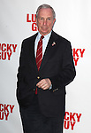 Mayor Michael Bloomberg  attending the Broadway Opening Night Performance of  'Lucky Guy' at the Broadhurst Theatre in New York City on 4/01/2013