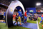 Atletico de Madrid's player Saúl Ñígez and CF Rostov's player Vladimir Granat during a match of UEFA Champions League at Vicente Calderon Stadium in Madrid. November 01, Spain. 2016. (ALTERPHOTOS/BorjaB.Hojas)