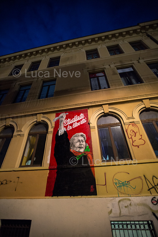 Tina Costa (Antifascist Partizan. Member of the Partigiani: the Italian Resistance during WWII).<br /> <br /> Roma & Romans Part 21 - 2019.