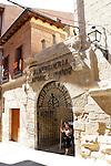 Viana.Navarra.Espana.Viana.Navarra.Spain.Entrada del Albergue de Peregrinos Andres Munoz..Entrance to the hostel for pilgrims Andres Munoz..(ALTERPHOTOS/Alfaqui/Acero)