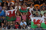 Glasgow 2014 Commonwealth Games<br /> Plenty of support for the welsh swimmers from fans.<br /> 27.07.14<br /> &copy;Steve Pope-SPORTINGWALES