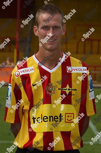 2007-07-28 / Voetbal / KV Mechelen / Jeroen Mellemans