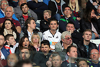 Swansea supporters during the Premier League match between Swansea City and Watford at The Liberty Stadium, Swansea, Wales, UK. Saturday 23 September 2017