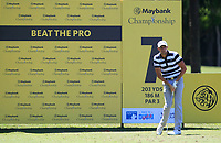Benjamin Hebert (FRA) in action on the 7th during Round 3 of the Maybank Championship at the Saujana Golf and Country Club in Kuala Lumpur on Saturday 3rd February 2018.<br /> Picture:  Thos Caffrey / www.golffile.ie<br /> <br /> All photo usage must carry mandatory copyright credit (© Golffile | Thos Caffrey)
