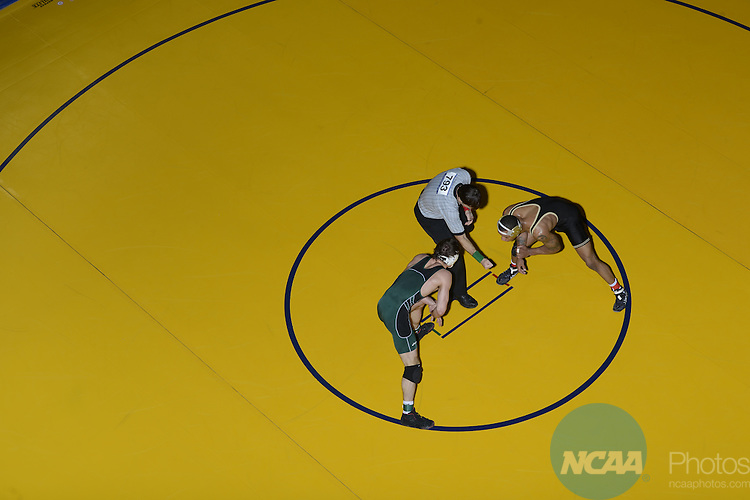 08 MAR 2013:  Wrestlers compete during the Division II Men's Wrestling Championship held at the Birmingham CrossPlex in Birmingham, AL.  Jamie Schwaberow/NCAA Photos