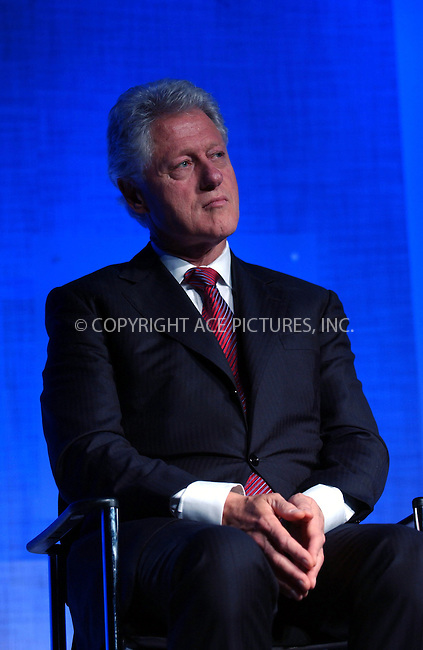 WWW.ACEPIXS.COM . . . . . ....September 20, 2006, New York City. ....Former US President Bill Clinton on stage during the Clinton Initiative Annual Meeting. .. ..Please byline: KRISTIN CALLAHAN - ACEPIXS.COM.. . . . . . ..Ace Pictures, Inc:  ..(212) 243-8787 or (646) 769 0430..e-mail: info@acepixs.com..web: http://www.acepixs.com
