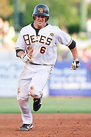 May 18, 2009:  Ryan Budde of the Salt Lake Bees, Pacific Cost League Triple A affiliate of the Los Angeles (Anaheim) Angles, during a game at the Spring Mobile Ballpark in Salt Lake City, UT.  Photo by:  Matthew Sauk/Four Seam Images