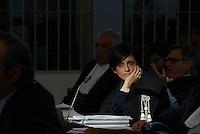 Roma, 24 Novembre 2015<br /> Ippolita Naso.<br /> Aula bunker di Rebibbia<br /> Quarta udienza del processo Mafia Capitale,