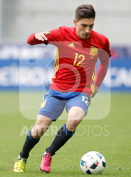 Spain's Hector Bellerin during friendly match. June 1,2016.(ALTERPHOTOS/Acero)