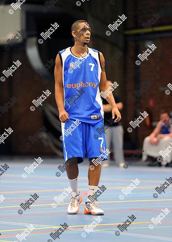 2012-09-04 / Basketbal / seizoen 2012-2013 / Kangoeroes-Boom 2 / Kabo 2 / Benjunior Lachdaf..Foto: Mpics.be