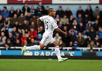 Sunday 07 December 2014<br /> Pictured: Wayne Routledge of Swansea<br /> Re: Premier League West Ham United v Swansea City FC at Boleyn Ground, London, UK.