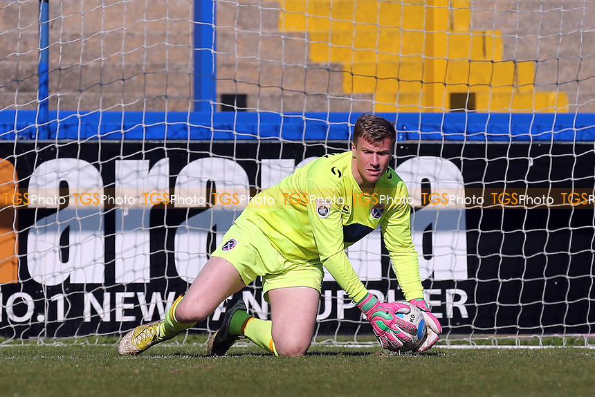 Elliot Justham of Dagenham and Redbridge during Macclesfield Town vs Dagenham & Redbridge, Vanarama National League Football at the Moss Rose Stadium on 8th April 2017
