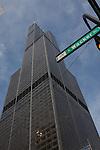 Willis Tower on Wacker Drive, Chicago, IL