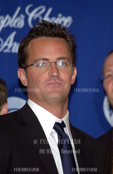 MATTHEW PERRY at the 30th Annual People's Choice Awards in Pasadena, CA..January 11, 2004