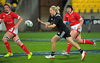 Kelly Brazier during the 2017 International Women's Rugby Series rugby match between the NZ Black Ferns and Canada at Westpac Stadium in Wellington, New Zealand on Friday, 9 June 2017. Photo: Dave Lintott / lintottphoto.co.nz