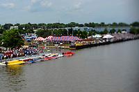 Heat race start SST-120 class, taken with a tilt/shift lens..Bay City River Roar, Bay City,Michigan USA.26-2821 June, 2009..©F. Peirce Williams 2009 USA.F.Peirce Williams.photography.ref: RAW (.NEF) File Available