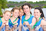 QUAD RACE: Killorglin rowers who won u14 Quad race at the All Ireland championships in Iniscarra on Sunday l-r: Meadh O'Sullivan, Caoimhe O'Sullivan, Agnieszka Dukarska, Maeve McGillicuddy and Kelly Moriarty.   Copyright Kerry's Eye 2008