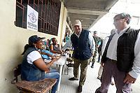 QUIBDÓ -COLOMBIA. 25-10-2015. Luis Carlos Villegas Ministro de Defensa y Yesid Reyes Ministro de Justicia de Colombia durante su visita a Quibdó, Colombia para verificar el normal desarrollo de las elecciones regionales 2015, hoy 25 de octubre de 2015. Los colombianos elegirán por voto directo en las urnas 1.102 alcaldes, 32 gobernadores, además de concejales, diputados y ediles en juntas administradoras locales./ Luis Carlos Villegas Minister of Defense and Yesid Reyes Minister of Justice of Colombia during their visit to Quibdo, Colombia to verified the normal development  of the regional elections 2015 in Bogota, Colombia, today October 25, 2015. Colombians will elect by direct vote at the polls 1,102 mayors, 32 governors, along with councilors, deputies and councilors in local boards. Photo: VizzorImage /  Mauricio Orjuela / Mindefensa