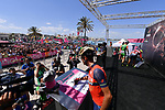 Vincenzo Nibali (ITA) Bahrain-Merida signs on before the start of Stage 8 of the 100th edition of the Giro d'Italia 2017, running 189km from Molfetta to Peschici, Italy. 1th May 2017.<br /> Picture: LaPresse/Gian Mattia D'Alberto | Cyclefile<br /> <br /> <br /> All photos usage must carry mandatory copyright credit (&copy; Cyclefile | LaPresse/Gian Mattia D'Alberto)