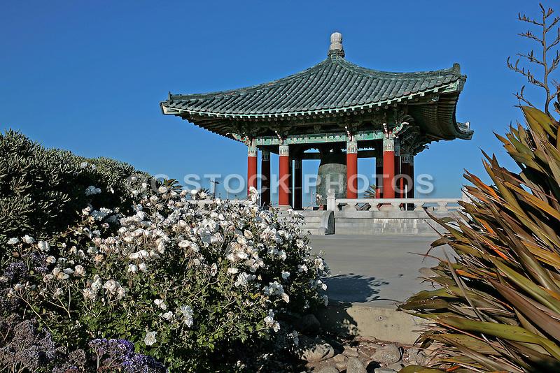 Korean Friendship Bell in San Pedro California