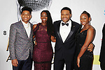 PASADENA, CA - FEBRUARY 11: (L-R) Nathan Anderson, Alvina Stewart, actor Anthony Anderson and Kyra Anderson arrive at the 48th NAACP Image Awards at Pasadena Civic Auditorium on February 11, 2017 in Pasadena, California.