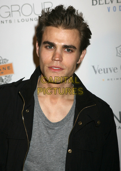 PAUL WESLEY.STK And Coco de Ville Host Mischief Night held At STKl, West Hollywood, California, USA, .30th October 2009..portrait headshot grey gray black .CAP/ADM/MJ.©Michael Jade/Admedia/Capital Pictures