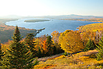 Lake Mooselookmeguntic from the Height of Land overlok in Rangeley, ME, USA