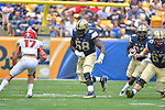 PITTSBURGH, PA, SEPT 2: The Pitt football team opens the 2017 season at home against Youngstown State at Heinz Field in Pittsburgh, Pennsylvania on September 2, 2017. <br /> Photographer: Pete Madia/Pitt Athletics