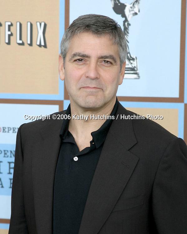 George Clooney.Independent Spirit Awards.Santa Monica Beach.Santa Monica, CA.March 4, 2006.©2006 Kathy Hutchins / Hutchins Photo....