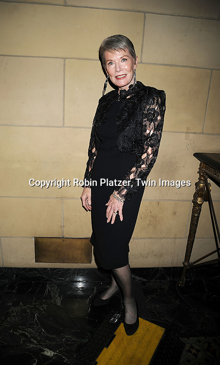 Ann Flood..posing for photographers at The Museum of the Moving Image salute to Ben Stiller on November 12, 2008..at Cipriani's 42nd Street in New York City. ....Robin Platzer, Twin Images
