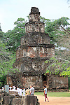Satmahal Prasada, The Quadrangle, UNESCO World Heritage Site, the ancient city of Polonnaruwa, Sri Lanka, Asia