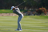 Rasmus Hojgaard (DEN) on the 5th fairway during Round 2 of the Abu Dhabi HSBC Championship 2020 at the Abu Dhabi Golf Club, Abu Dhabi, United Arab Emirates. 17/01/2020<br /> Picture: Golffile   Thos Caffrey<br /> <br /> <br /> All photo usage must carry mandatory copyright credit (© Golffile   Thos Caffrey)