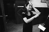 Warszawa 23 september - 24 october 2005 Poland<br /> The Fryderyk Chopin International Contest taking place every five years in Warsaw is the most prestigious musical event in the world. This year a record high number of contestants has applied - 257 musicians from 35 countries. <br /> ( &copy; Filip Cwik / Napo Images for Newsweek Polska )<br /> <br /> Warszawa 23 wrzesien - 24 pazdziernik 2005 Polska<br /> 15 Miedzynarodowy Konkurs Pianistyczny im. Fryderyka Chopina. Konkurs odbywa sie co piec lat i jest to najbardziej prestizowa impreza pianistyczna na swiecie. Nalezy do swiatowej elity wydarzen muzycznych. W tym roku na Konkurs zglosila sie rekordowa liczba uczestnikow - 257 muzykow z 35 krajow. <br /> nz Kawamura Hisako ( Japonia ) tuz po wystepie. Pierwszy etap przesluchan.<br /> ( &copy; Filip Cwik / Napo Images dla Newsweek Polska )