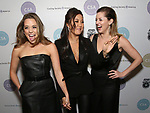 Erika Henningsen, Ashley Park, and Taylor Louderman attends the Casting Society of America's 33rd annual Artios Awards at Stage 48 on January 18, 2018 in New York City.