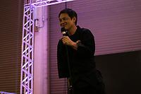 SAO PAULO, SP - 07.07.2017 - ANIME-FRIENDS - O Ator japonês, Kenji Oba, durante o Anime Friends nesta sexta-feira (07), no Expo Transamérica, na região sul de São Paulo. O ator foi protagonista na série Ninja Jiraiya, sucesso na década de 1980 e 1990.<br /> <br /> (foto: Fabricio Bomjardim / Brazil Photo Press)