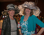 Susan Dunklau and Marjorie Lattka during the Kentucky Derby Party at The Peppermill on Saturday, May 6, 2017 in Reno, Nevada.